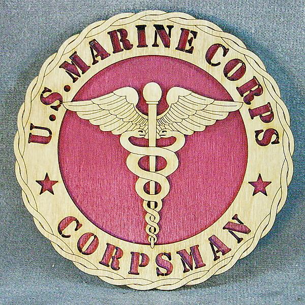 Marine Corpsman [DT Marine Corpsman RD] - $24.95 : Custom Laser ...