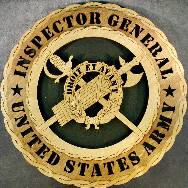 inspector general wall tribute wt army inspector gen bk 34 95