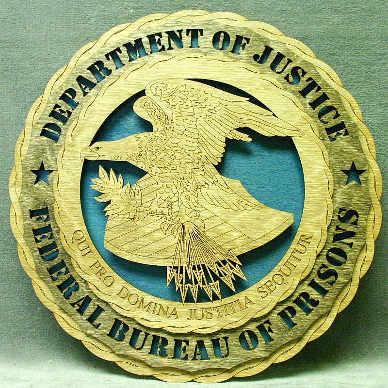 New products custom laser accents for Bureau of prisons